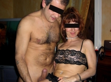 Gode sa femme - Couple libertin Lille