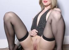 Position sexy en bas nylon