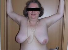 Seins nus - Vieille femme
