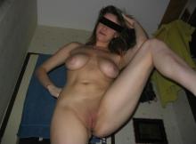 Femme divorcée toute nue