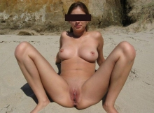 Chatte lisse - Exhib plage