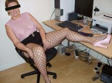 Coquine dans le bureau - Dial sexe