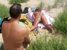 Masturbation voyeur au Cap d'Agde
