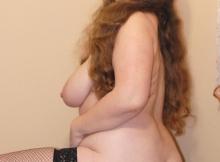 Fille ronde nue - Contribution amateur