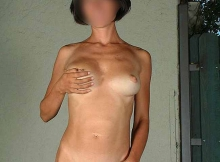 Femme strasbourgeoise nue