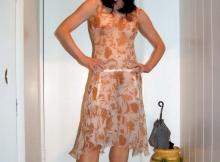Robe transparente - Femme divorcée