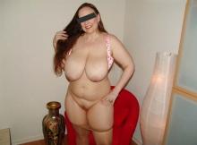 Collants abaissé - Femme libertine