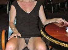 Femme mûre Toulouse : culotte transparente