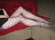 Belles jambes en collants - Femme infidèle