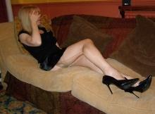 Cougar blonde sexy à Lille