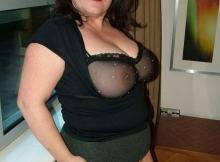 Collants sans culotte - Femme ronde
