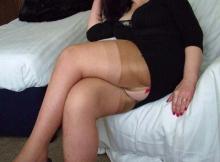 Bas nylon sexy - Cougar sexe