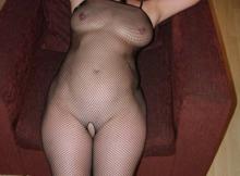 Combinaison sexy en résilles