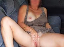 Masturbation dans la voiture