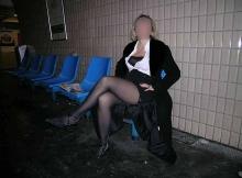 Exhibition sexe Paris : banc dans le metro