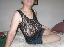 Grosses loches en body coquin - Cougar Le Havre