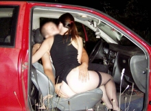 Sexe en voiture - Candaulisme