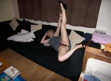 Belles jambes - Plan baise