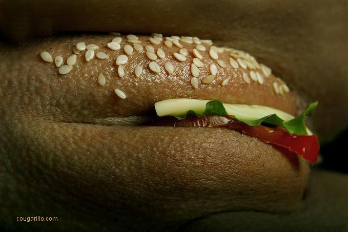 Chatte hamburger