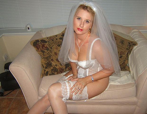 Femme mariée en bas nylon