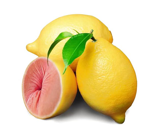 Citron trou de balle