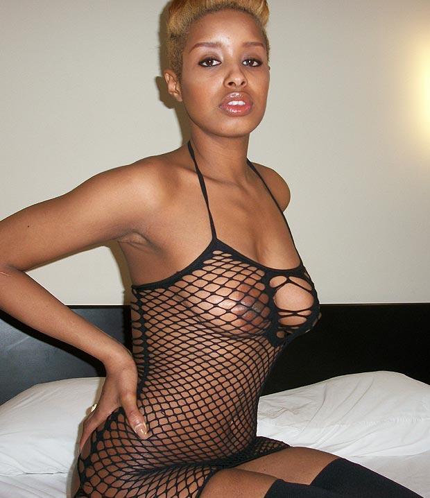 Beaux seins - Black sexy