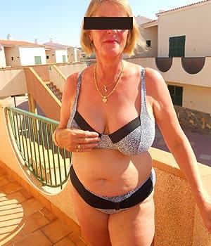 Femme mature près de Nice