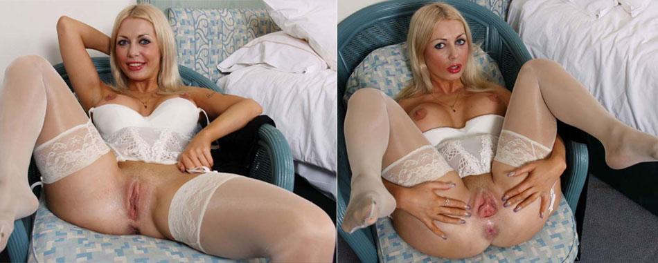 Blonde sexy - Sodomie