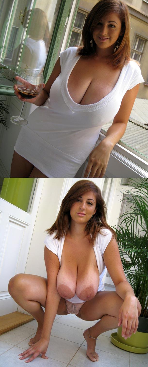 Femme chaude très gros seins