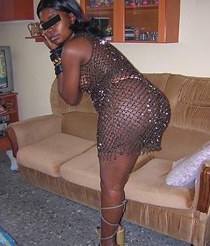 Femme black et libertine