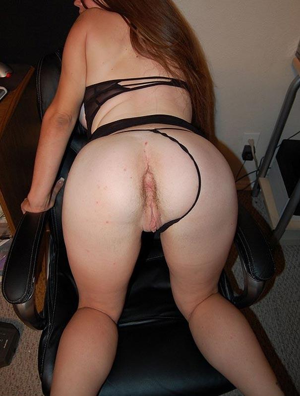Femme chaude position levrette
