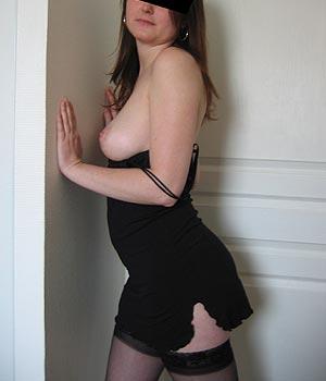 Jeune femme lingerie sexy