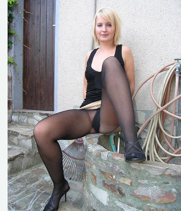 Collants sans culotte
