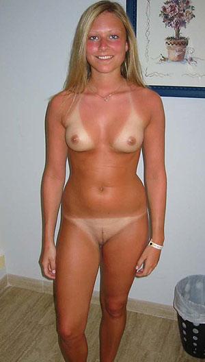 Fille toute nue