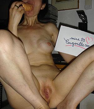 Webcam sexe et dédicace Cougarillo.com : suce un gode