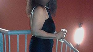 Plan cul Black: jeune femme dispo hôtel Lyon