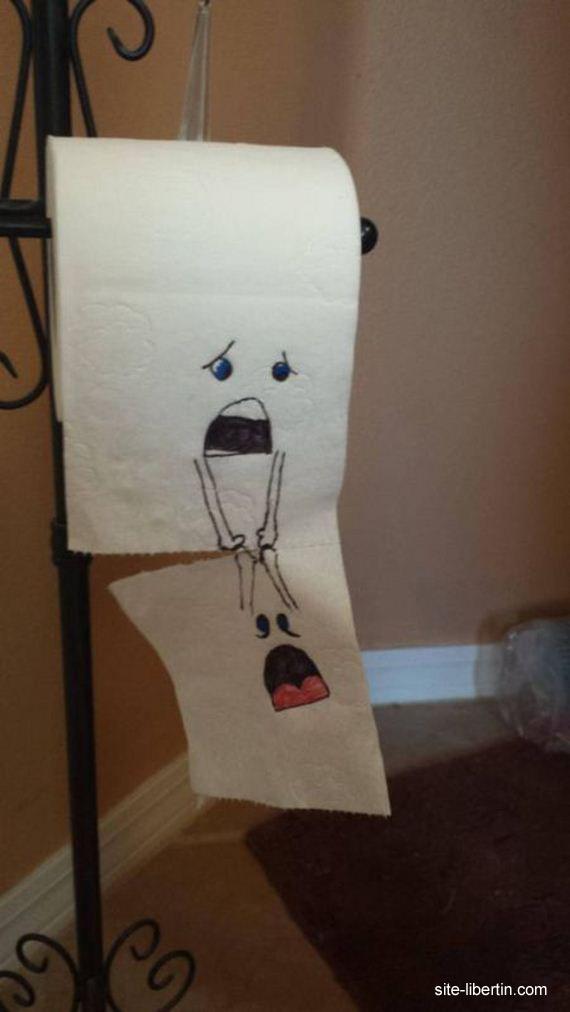 Papier toilette marrant - Sexe adulte