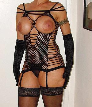 Femme Cougar en lingerie très sexy