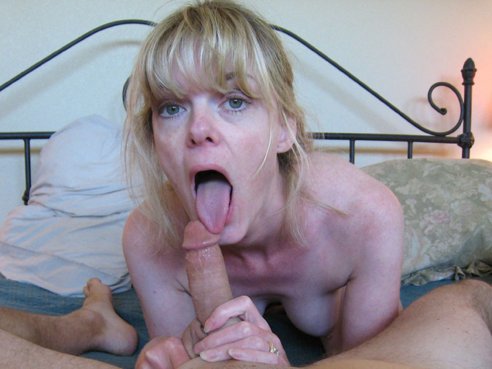 Femme mature - Fellation