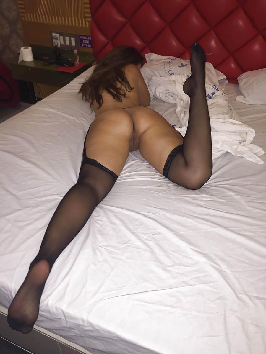 Beurette en lingerie sexy