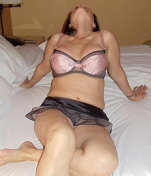 Femme sexy à l'hôtel de Tours