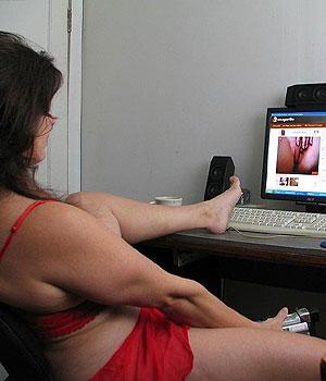 Séance de masturbation en webcam live