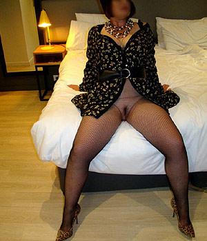 Cannoise coquine à l'hôtel