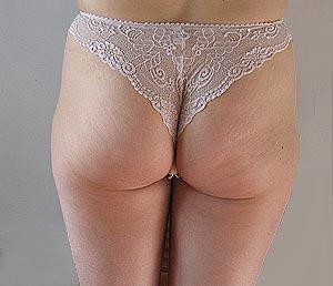 La paire de fesses du femme du Loiret en culotte sexy.